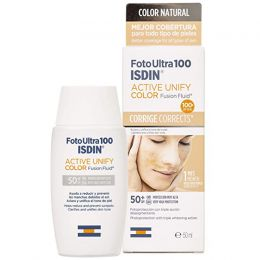 ISDIN FOTO ULTRA 100 ACTIVE SUNSCREEN UNIFY FUSION FLUID COLOR