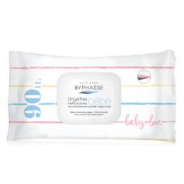 BYPHASSE BABY CLEANSING WIPES FACE & BODY 90U.