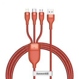 Baseus 3 in 1 Fast USB charger, 1.2m