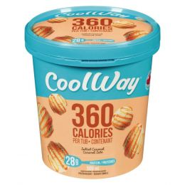 Coolway Salted Caramel  Ice Cream 500ml
