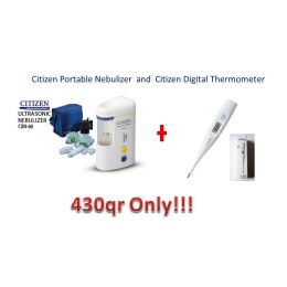 Citizen Portable Nebulizer and Citizen Digital Thermometer
