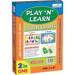 Play 'N' Learn 2 in 1- Colours & Shapes (CE00340)