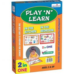Play 'N' Learn 2 in 1-In the Kitchen & In the Bedroom (CE00342)