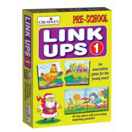 Link Ups 1 (10 two piece Puzzles) (CE00732)
