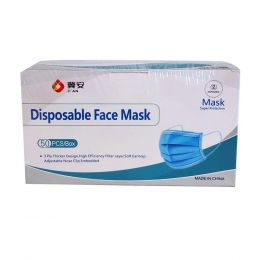 Disposable Face Mask (3 Ply)- 50 Pcs/Box