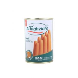 Hot Dog Beef Canned, 210G