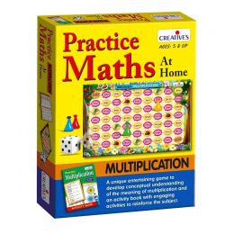 Practice Maths at Home-Multiplication (CE01071)