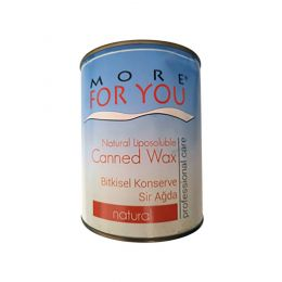 More For You Canned Wax - Natural