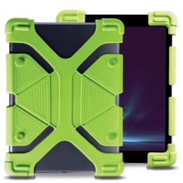 Universal shock-proof case 9 to 12 inches Green