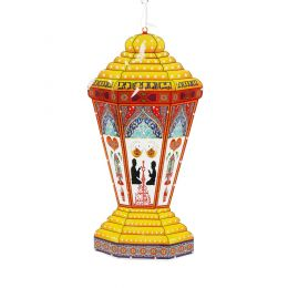 Ramadan Fanos with Lights - Large
