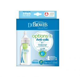 Dr.Brown PP Narrow-Neck Options Baby Bottle, 3-Pack