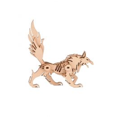 3D Wooden Puzzle Wolf