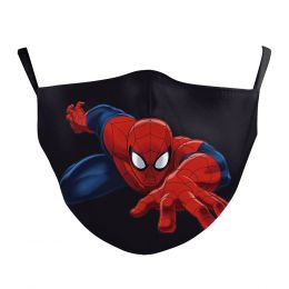 Washable Cloth Face Mask  - Spiderman