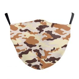 Washable Cloth Face Mask  - Army Desert Camo