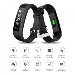 Riversong SMART BAND ACT HR WAVE 04 - BLACK (ACT-HR-WAVE04)