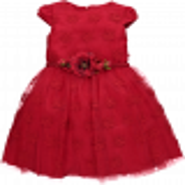 فستان أحمر