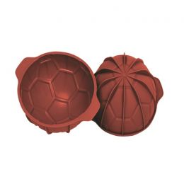 1/2 Silicone Mould Foot Ball