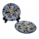 Plate with Hand painted designs, 8